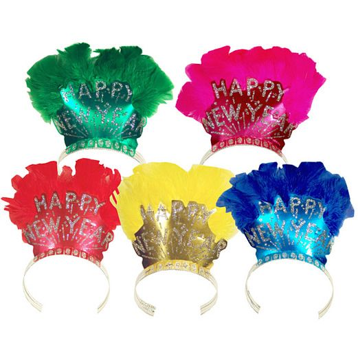 New Years Hats & Headwear Bird of Paradise New Year Tiara Image