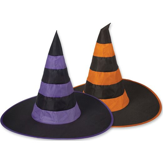 Halloween Party Wear Nylon Witch Hat Image