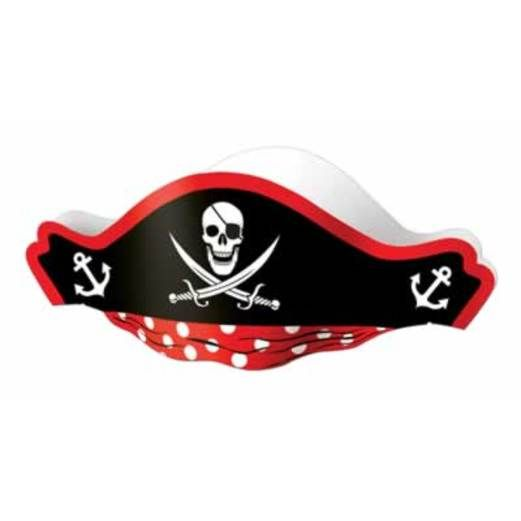 Pirates Hats & Headwear Pirate Hat with Tissue Top Image