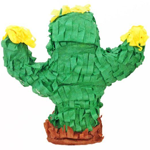 Cinco de Mayo Decorations Mini Cactus Pinata Image