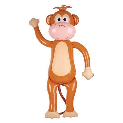 Luau Favors & Prizes Jumbo Monkey Inflate Image