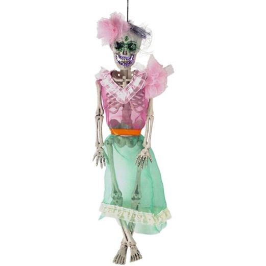 Day of the Dead Decorations Day of the Dead Female Skeleton Image