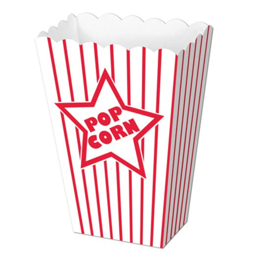 Awards Night & Hollywood Decorations Paper Popcorn Boxes Image