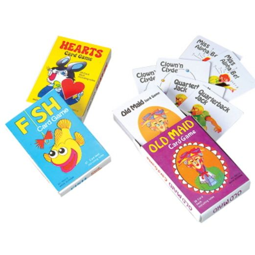 Birthday Party Favors & Prizes Coated Card Games Image