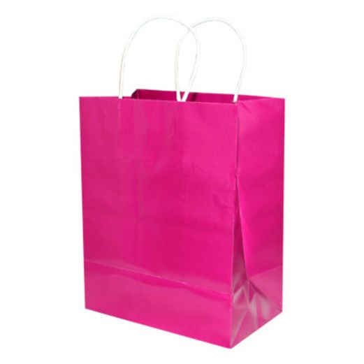Valentine's Day Gift Bags & Paper Medium Gift Bag Cerise Image