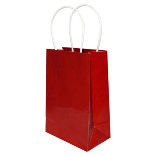 Valentine's Day Gift Bags & Paper Small Gift Bag Red Image