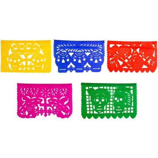 Day of the Dead Decorations Day of the Dead Medium Papel Picado Image