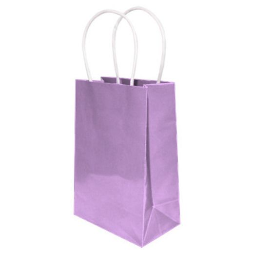 Baby Shower Gift Bags & Paper Small Gift Bag Lavender Image