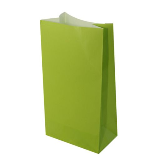 Gift Bags & Paper Lime Green Paper Sacks Image