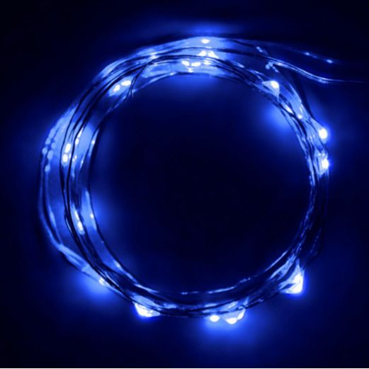 Glow Lights Blue LED String Lights Image