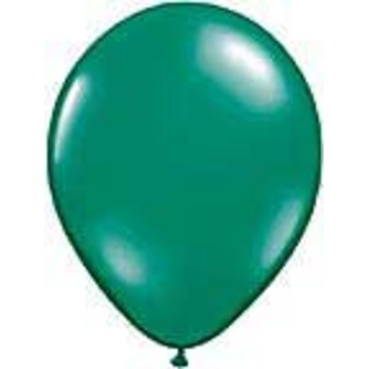 """St. Patrick's Day Balloons 11"""" Emerald Green Balloons Image"""