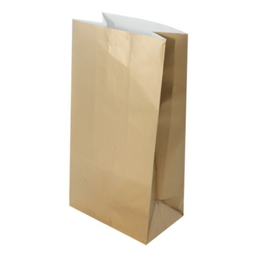 New Years Gift Bags & Paper Metallic Gold Party Bags Image