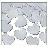 Confetti Silver Hearts Confetti Image