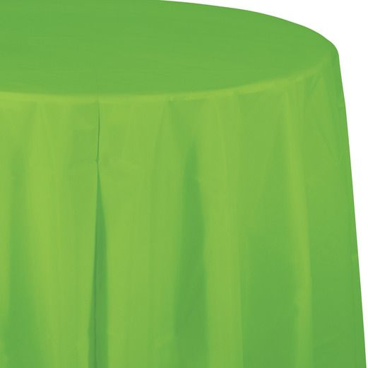 Easter Table Accessories Round Table Cover Light Green Image