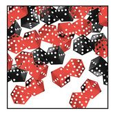 Casino Decorations Dice Confetti Image
