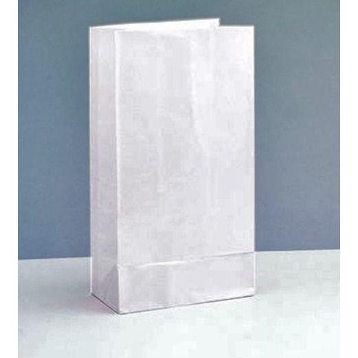 Gift Bags & Paper White Paper Sacks Image