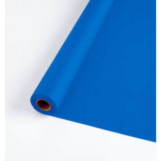 4th of July Table Accessories Royal Blue Plastic Table Roll Image