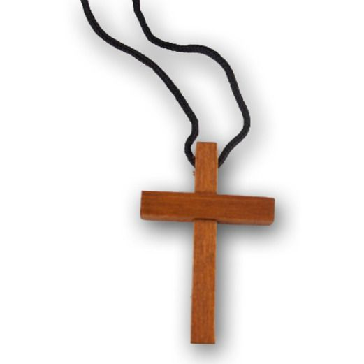 Jewelry Favors & Prizes / Small Toys Wooden Cross Necklaces Image