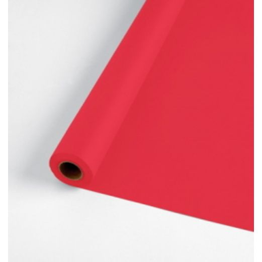 Valentine's Day Table Accessories 250' Table Roll Red Image