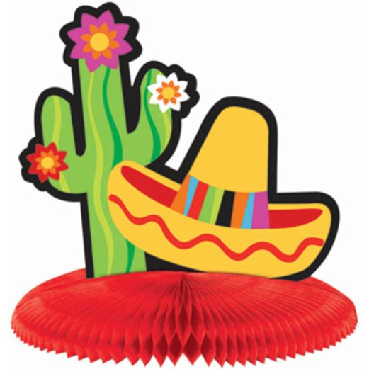 Cinco de Mayo Decorations Mini Fiesta Centerpieces Image