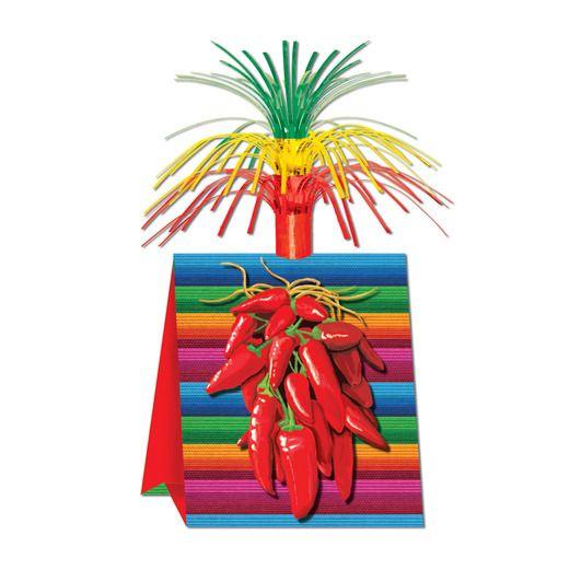 Cinco de Mayo Decorations Chili Pepper Centerpiece Image