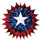 4th of July Decorations Patriotic Fan Burst Image