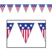 4th of July Decorations Spirit of America Pennant Banner Image