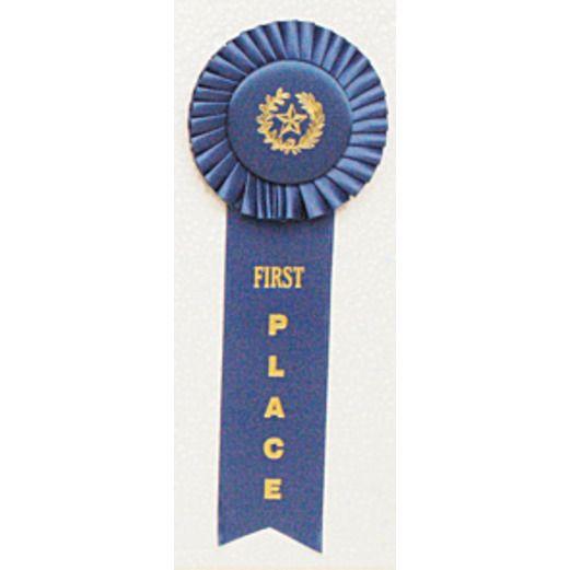 Favors & Prizes 1st Place Rosette Ribbon Image