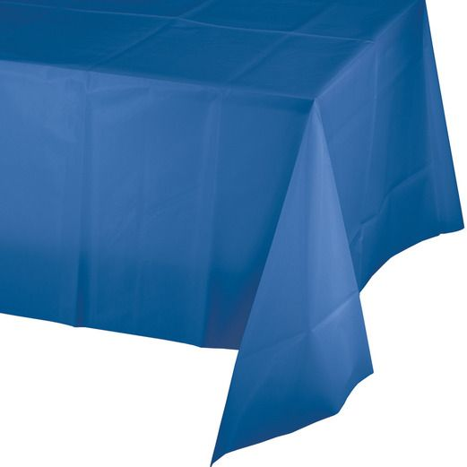 4th of July Table Accessories Rectangular Table Cover Royal Blue Image
