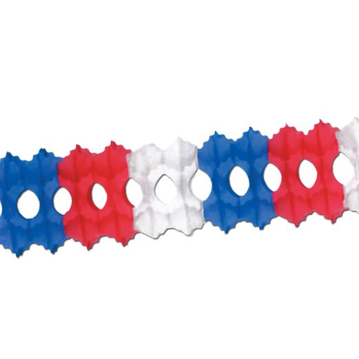 4th of July Decorations Red-White-Blue Arcade Garland Image