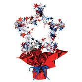 4th of July Decorations RWB Star Shape Centerpiece Image
