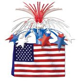 4th of July Decorations American Flag Centerpiece Image