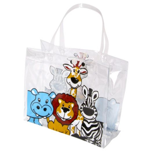 Jungle & Safari Gift Bags & Paper Zoo Animal Tote Bags Image