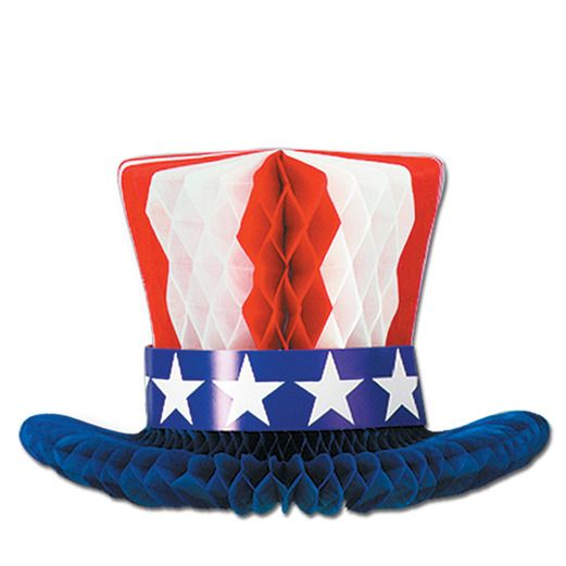 4th of July Decorations Patriotic Centerpiece Image