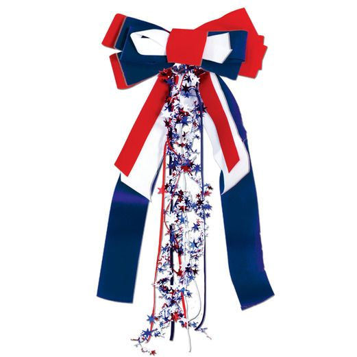 4th of July Decorations Patriots Pride Ribbon Image