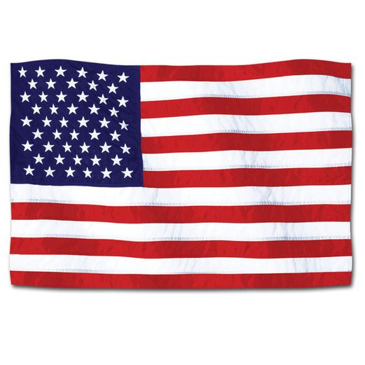 4th of July Decorations American Flag Cutout Image