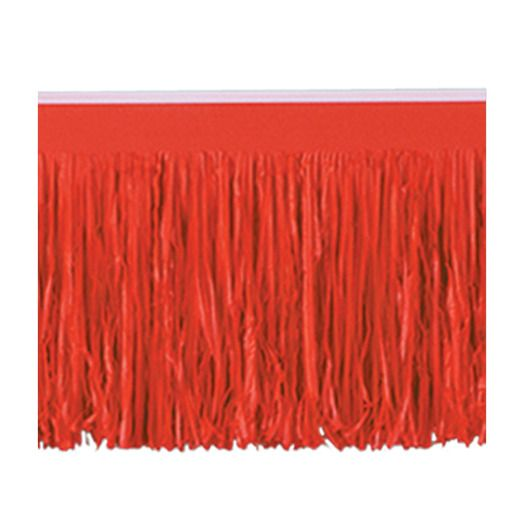 Valentine's Day Decorations Red Fringe Drape Image