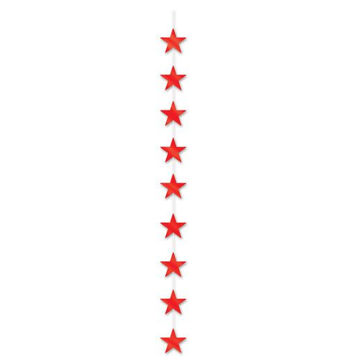 4th of July Decorations Red Star Stringer Image