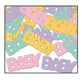 Baby Shower Decorations Baby Confetti Image
