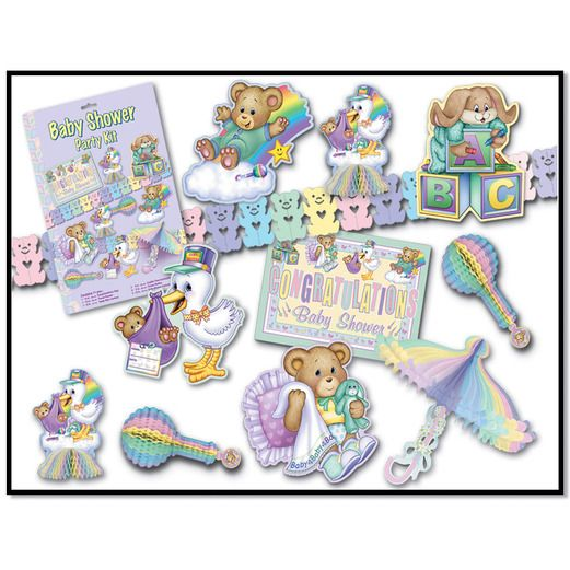 Baby Shower Decorations Cuddle Time Decorama Image