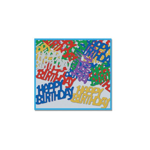 Birthday Party Decorations Happy Birthday Confetti Image