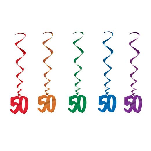 Decorations / Hanging Decorations 50 Whirls Image
