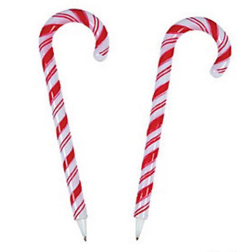 Christmas Favors & Prizes Candy Cane Pens Image