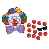 Birthday Party Decorations Pin the Nose on the Clown Image