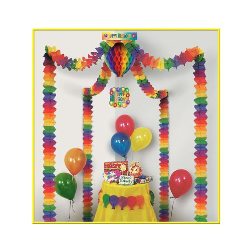 Birthday Party Decorations Birthday Canopy Image