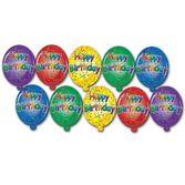 Decorations / Cutouts Mini Happy Birthday Cutouts Image
