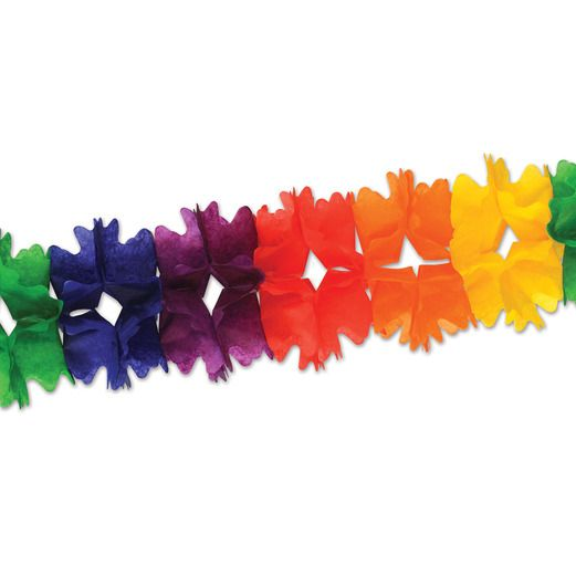 Cinco de Mayo Decorations Rainbow Pageant Garland Image