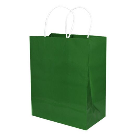 Gift Bags & Paper Medium Gift Bag Hunter Green Image