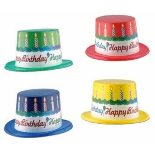 Birthday Party Hats & Headwear Birthday Top Hat Image