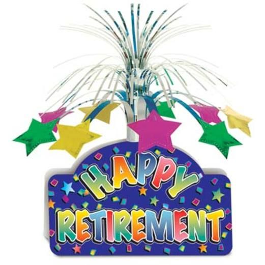 Retirement Decorations Retirement Centerpiece Image